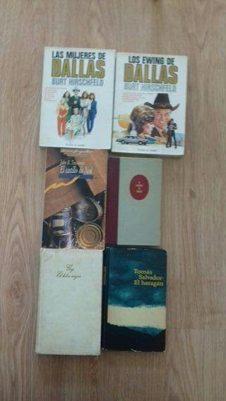 Lote de 12 libros