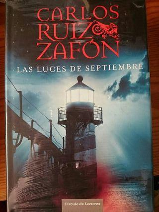 "Libro lectura ""Las luces de septiembre"""