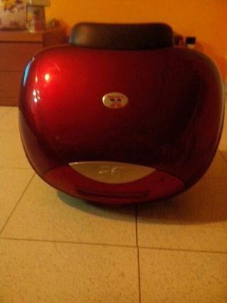 maleta moto con luces y respaldo solo 165 euros