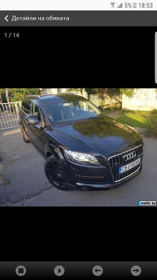 Audi Q7 2007 el coche face lift 2013 el s line