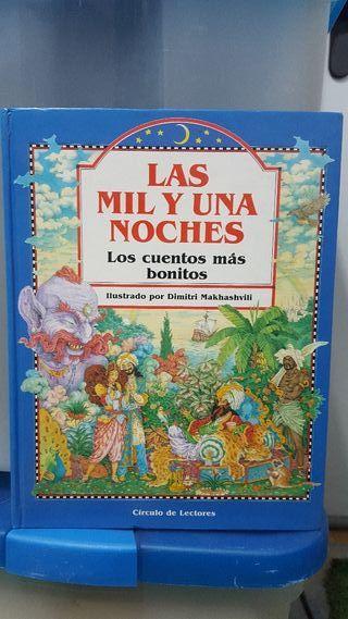 """libro lectura """"las mil y una noches """""""