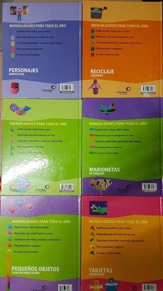 libros manualidades y aprendizaje