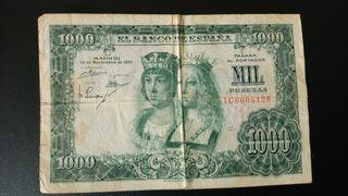 BILLETE 1000 PESETAS 1957