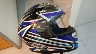 casco moto KBC VR-2 legend talla S