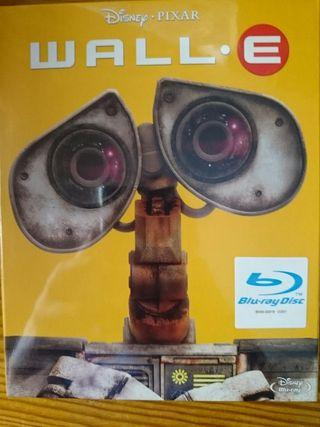 "Blu-ray nuevo ""Wall-e"""