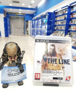 THE LINE SPEC OPS PS3 IMPECABLE
