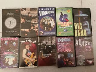 Videos VHS (Motorhead, Bad Religion...)