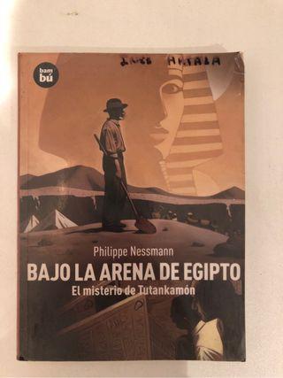 LibroBajo la arena de Egipto