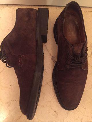 Zapatos nobuk