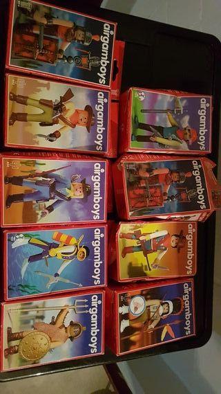 Airgamboys nuevos en bolsa y caja