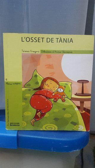 """libro lectura infantil """"L'osset de Tània"""""""