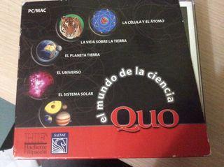 5 cd de ciencias