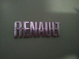 Anagrama renault clasico