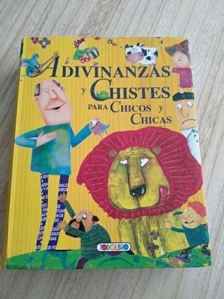 Libro infantil de chistes