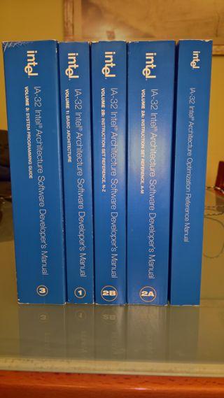 Manuales Intel para desarrolladores (5 tomos)