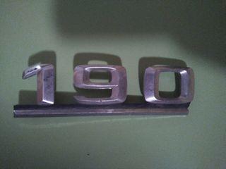 Anagrama mercedes 190