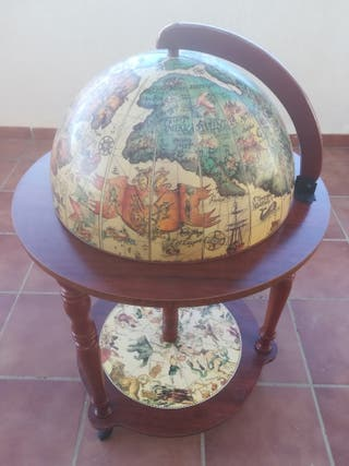 Mueble mini bar globo