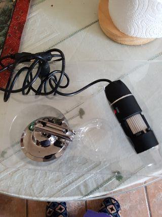 cámara microscopio