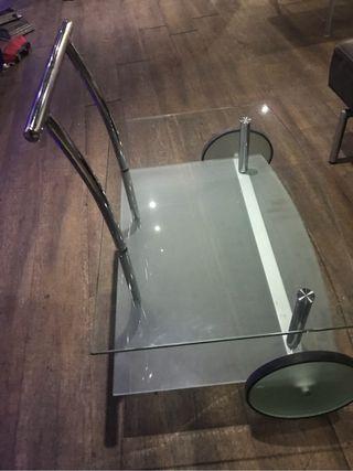 Mesa cristal vintage