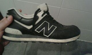zapatillas new balance tipo cuero talla 44