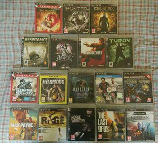 Lote 20 juegos PS3