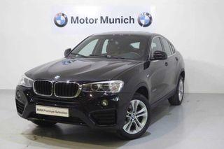 BMW X4 xDrive20D Automático 190cv Mod F26 EU 6