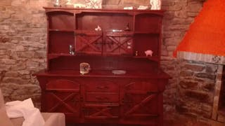Mueble rustico macizo