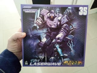 Transformer Shockwave MF-35 MechFans Toys
