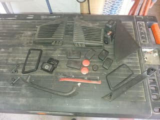 Golf Mk2 varios interior plasticos etc..