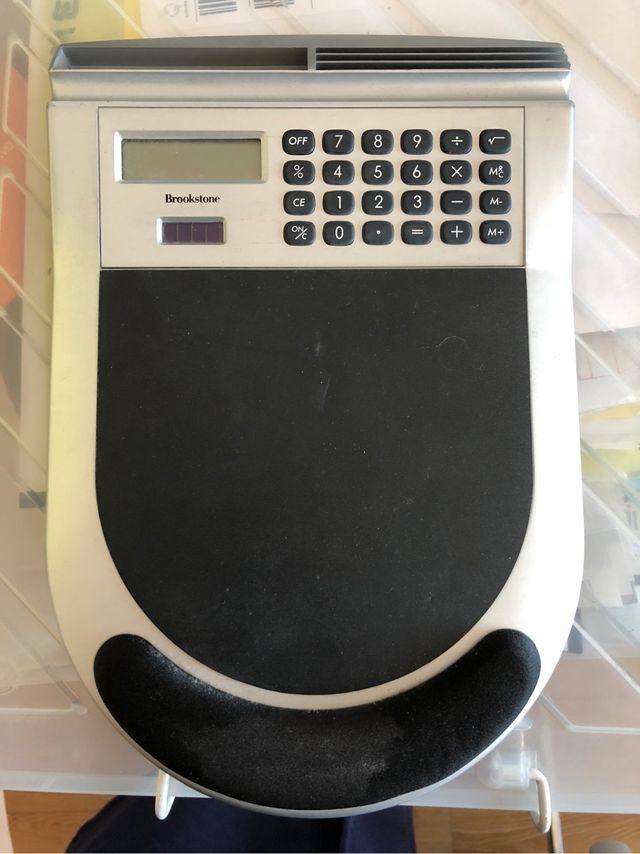 Alfombrilla ratón calculadora