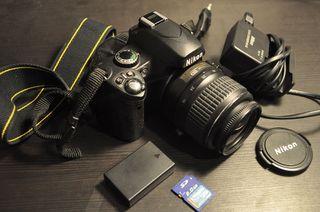 Nikon D40 - Lista para usar