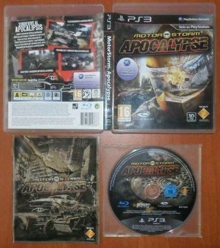 MotorStorm, Pacific Rift, Apocalypse, PS3 Ver. ESP