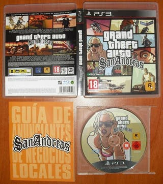 GTA (San Andreas, IV Edición Completa, V Five) PS3
