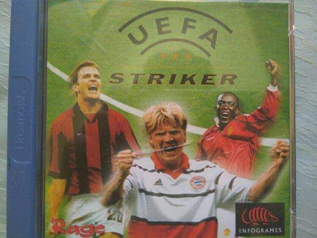 Uefa striker dreamcast juego