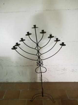 candelabro metalico