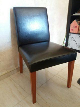 sillas de salon 6 unidades