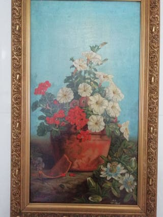 Cuadro lienzo Bodegón de 1901