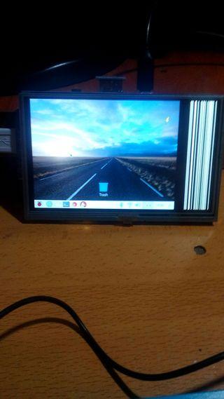 "monitor 5"" lcd para rasberry"