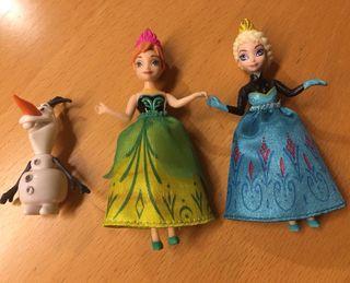 Muñecos/muñecas Frozzen.