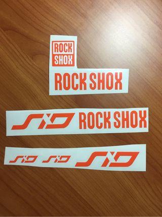 Pegatinas Rock Shox