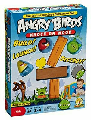juego Angry birds: knock on wood.