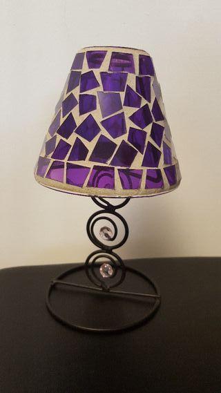 Manta, Velas y lámpara portavelas
