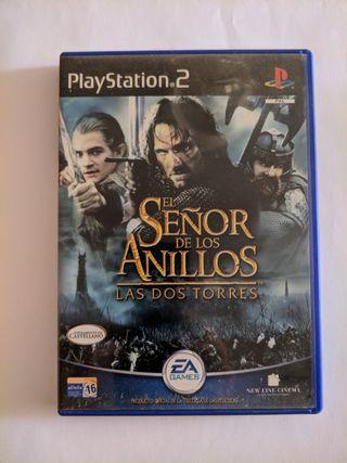 Juego PS2 - ESDLA Las Dos Torres