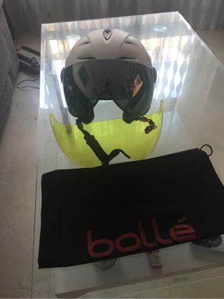 Casco esqui snow bolle