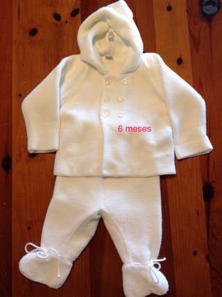 Ropa bebé, San Francisco blanco