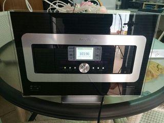 RADIO PHILIPS CRISTAL DISEÑO