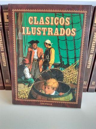 Clásicos Ilustrados, colección completa