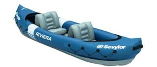 Kayak piragua hinchable inflar