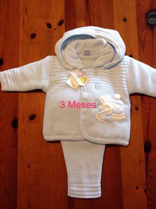 Ropa bebé, San Francisco dos piezas