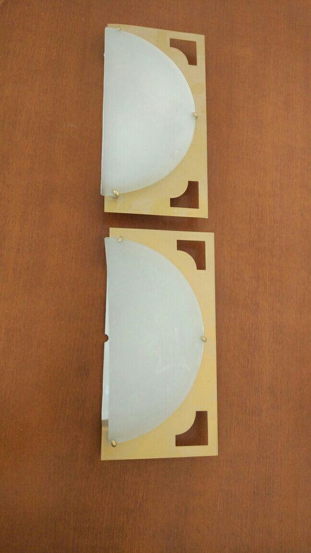lamparas pared aplique 2x1